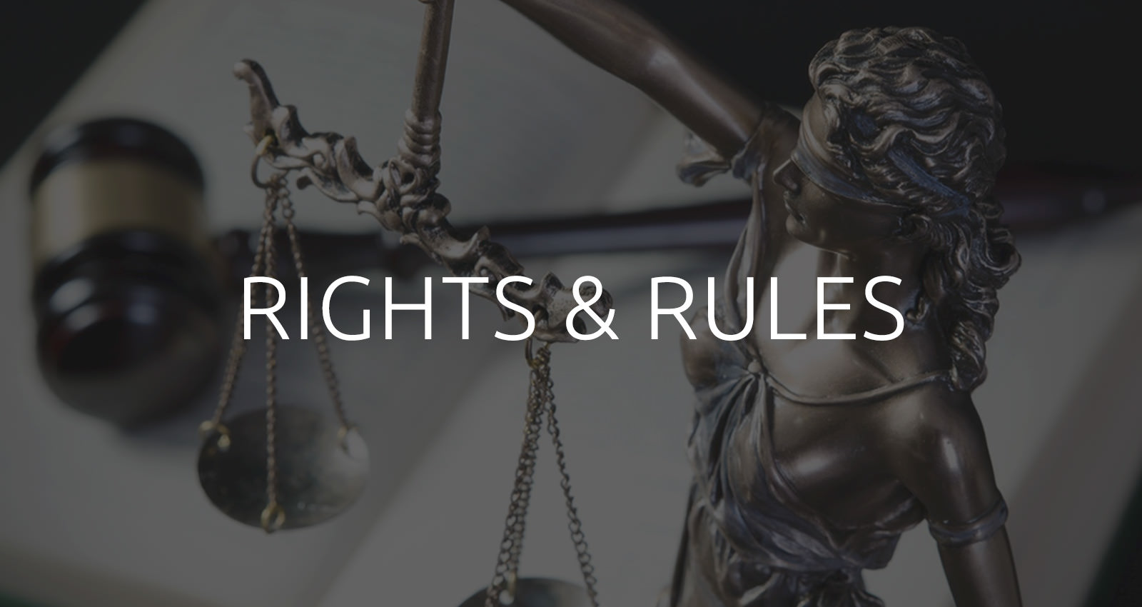 Right and rules